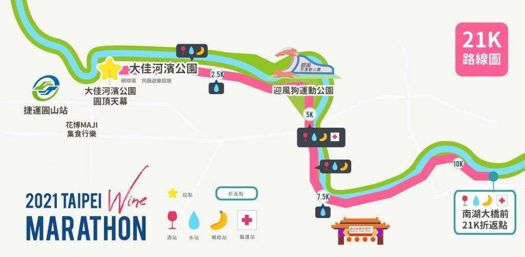 21K 中文版路線圖