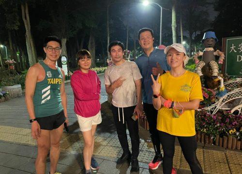 每週路跑團練